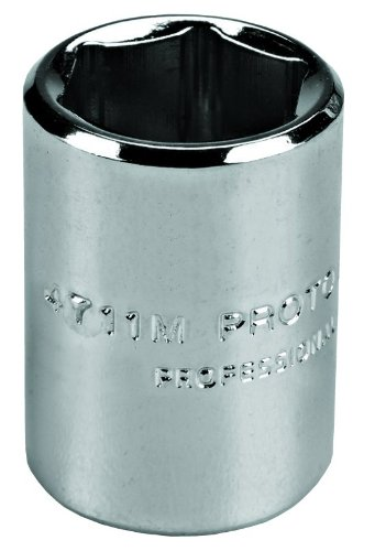 Stanley Proto J4715M 1/4-Inch Drive Socket, 15mm, 6 Point
