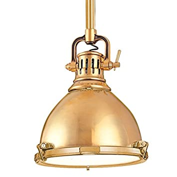 brass lighting fixtures. hudson valley lighting pelham 1light pendant aged brass finish with fixtures