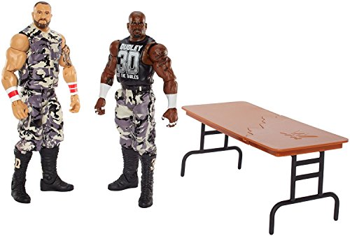 [Super Hero WWE Devon Dudley and Bubba Ray Dudley Hero Series Action Figures Toys, 2 Pack] (Bubba Ray Dudley Costume)