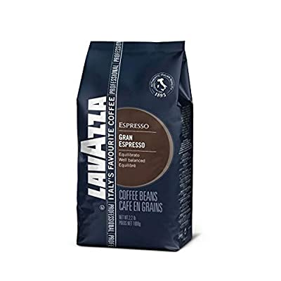 Lavazza Gran Espresso Whole Bean Coffee Blend, Espresso Roast, 2.2-Pound Bag from Lavazza