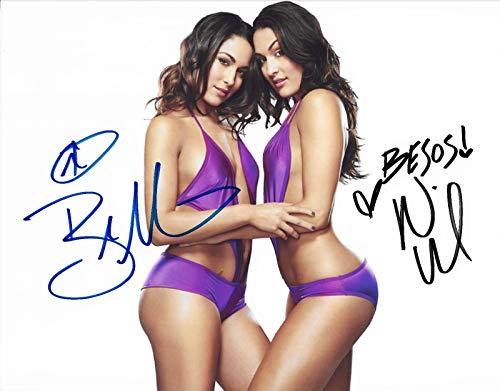 The Bella Twins Nikki & Brie WWE divas signed reprint photo #1 RAW RP -