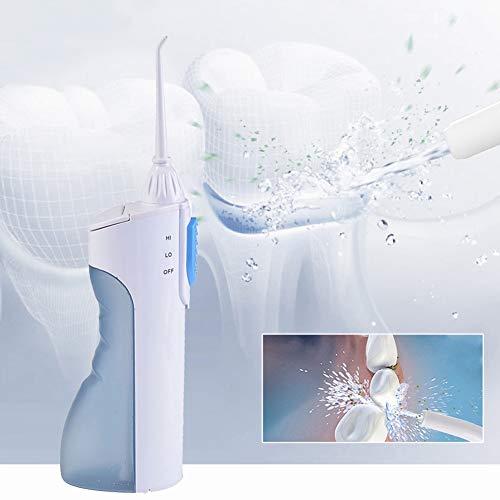Hmlopx 2 Modes Portable Oral Irrigator Water Dental Flosser Travel Jet Pick Teeth Cleaning Orrigation Teeth Cleaner