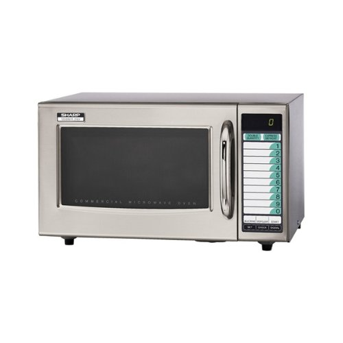Sharp Medium-Duty Commercial Microwave Oven (15-0429) Category: Microwaves, R-21LVF (Small Commercial Oven compare prices)