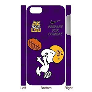 LSU Tigers Iphone 5 5s Case Funny Snoopy NCAA Louisiana State University LSU Fighting Tigers Hard Cases Cover at NewOne