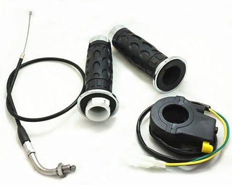 Amazon.com: Throttle Assembly kit for X1 X2 43CC 49CC POCKET ...
