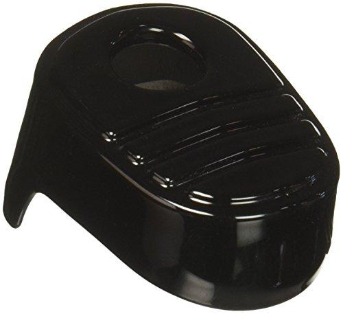 Kuryakyn 6985 Tri-Line Gloss Black Ignition Switch Cover