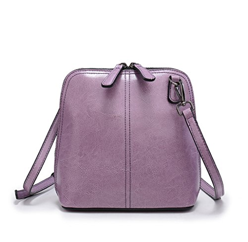 Color Candy Color Package Asdyy Package Wild Bag Shell Diagonal Shell Leather Fashion G Wax Double Bag YAwqO4wx6