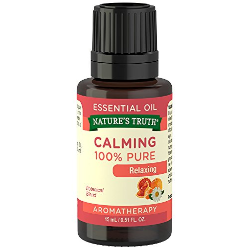 Nature's Truth Aromatherapy Calming 100% Pure Essential Oil, Citrus, 0.51 Fluid - Aromatherapy Calming Lavender