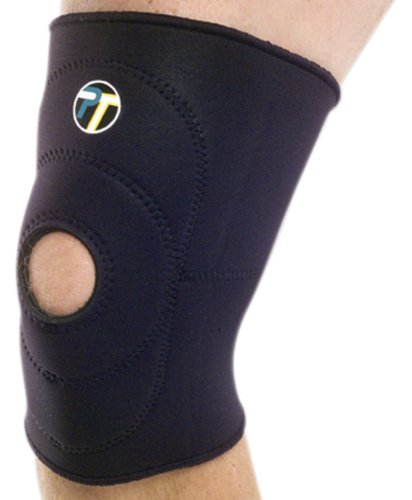 Pro-Tec Athletics Open Patella Knee Sleeve (Medium) Neoprene Patella Knee Sleeves