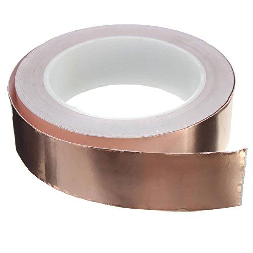 KING DO WAY 30mmx20m EMI Abschirmband Kupferfolie Kupferband Selbstklebend Klebeband