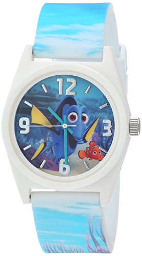 Disney Kids' Finding Dory Analog Display Blue Watch - Watch Discovery