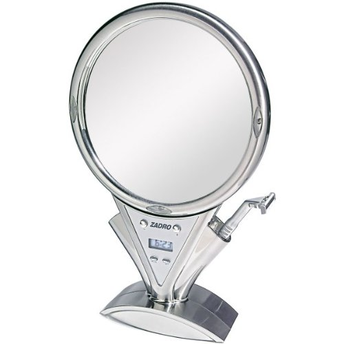 Z Fogless Power Zoom Lighted Magnifying Mirror by Zadro