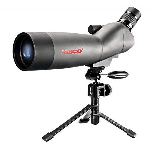 Tasco World Class 20-60x60 Zoom Spotting Scope w/Mountable Tripod & 45 degree EP