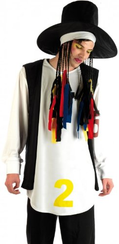 Adult Boy George Culture Club 80s Costume