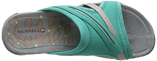 Merrell Damen Terran Slide II Athletic Sandale Atlantis