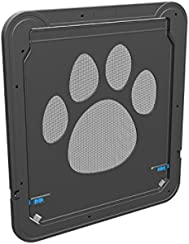 "Dog Door Screen Door, Pet Screen Door,Automatic Lock/Lockable -Gen 3 12"" x 14"""