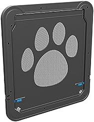 """Dog Door Screen Door, Pet Screen Door,Automatic Lock/Lockable -Gen 3 12"""" x 14"""""""
