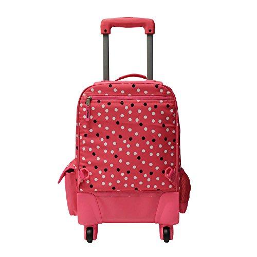 Pepe Jeans Trolley con Ruedas, Diseño Lunares, Color Rosa: Amazon.es: Equipaje