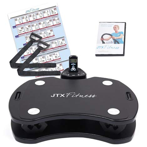 JTX SLIM-FIT: HOME VIBRATION PLATE. Powerful personal vibration plate with Tri-plane vibrations. 2 YEAR IN-HOME SERVICE WARRANTY.