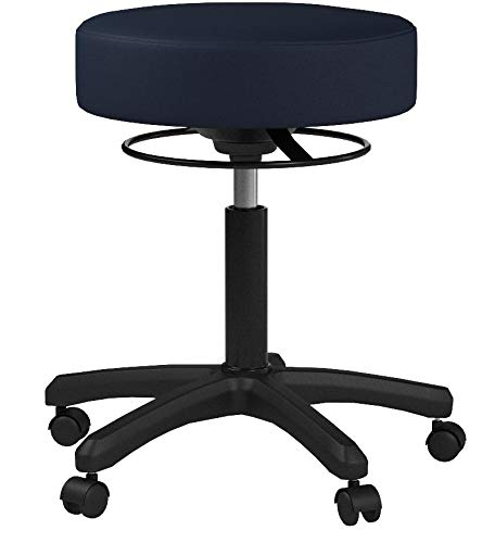 Magnificent Perch Life Rolling Pneumatic Adjustable Stool For Lab Medical Office Spa Salon Kitchen Garage 18 23 Hard Floor Casters Imperial Fabric Evergreenethics Interior Chair Design Evergreenethicsorg
