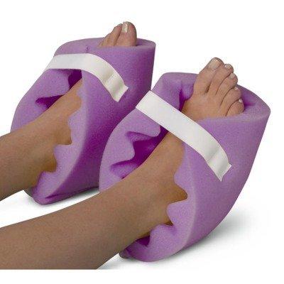 Medline NON081440PH Convoluted Foam Heel Protectors, 1 Pair, (Foam Heel)