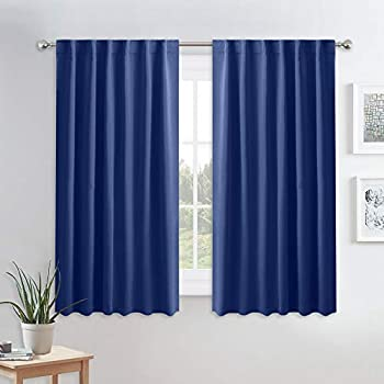 Amazon Com Blue Curtains Blackout For Bedroom Ryb Home