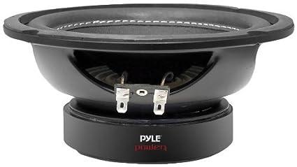 Amazon.com: Pyle PLPW6D 6-Inch 600 Watt Dual 4 Ohm Subwoofer: Car ...