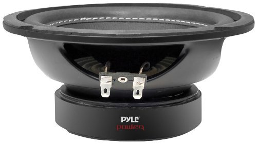 Car Vehicle Subwoofer Audio Speaker - 6 Inch Non-Pressed Paper Cone, Black Steel Basket, Dual Voice Coil 4 Ohm Impedance, 600 Watt Power, Foam Surround for Vehicle Stereo Sound System - Pyle PLPW6D