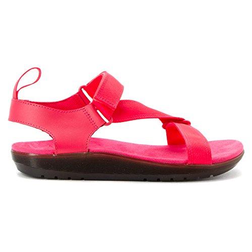 Dr. Martens Dames Balfour Z-strap Sandaal Neon Roze / Neon Roze
