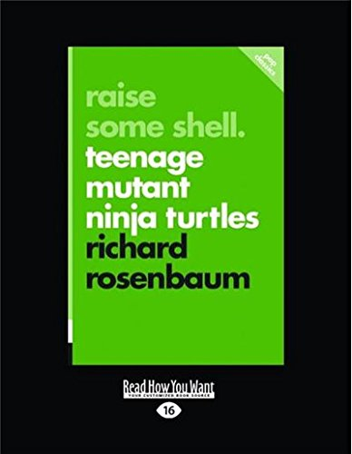 Raise Some Shell: Teenage Mutant Ninja Turtles Large Print ...