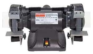Amazon Com Dayton 2lkr9 Bench Grinder 8 In 3 4 Hp 115