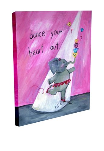 Cici Art Factory Dance Your Heart Out, Canvas 20'' x 16''