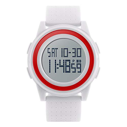 MALLTY Reloj Deportivo Digital Militar de Unsex Reloj retroiluminado de LED retroiluminado a Prueba de Agua