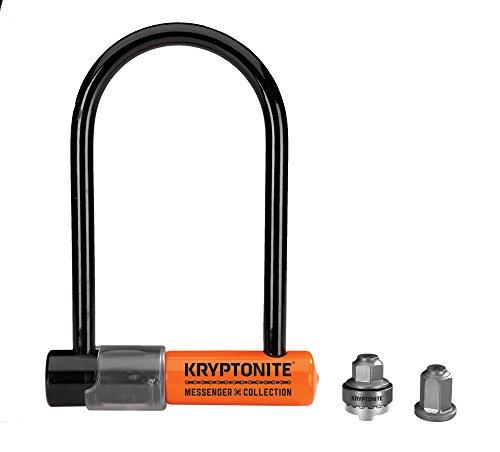 Kryptonite Mini Heavy Duty Bicycle U Lock Total Package w/ WheelNutz