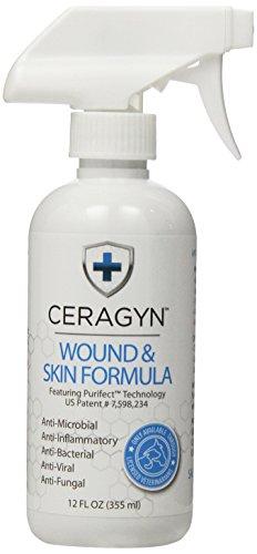 Ceragyn plaie et peau formule pour animaux de compagnie, 12 onces