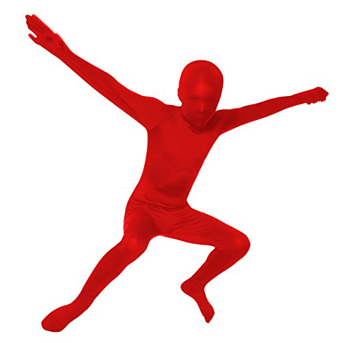 [Living Fiction Red Skin Suit Boy XL (14-16)] (Red Morph Suit)