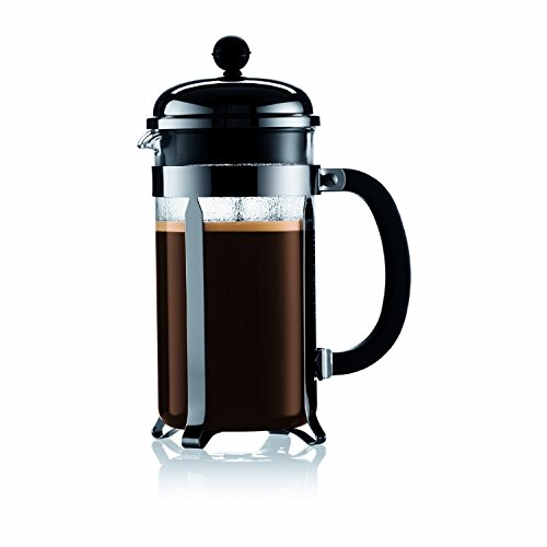 Spak Coffee French Press -- 0,8l. Chrome and Glass