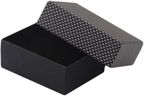 Gemelos y clip de corbata plateados estilo Batman: Amazon.es ...