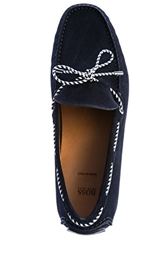 Navy in Suede BOSS Moccasins Driver tZqwTIS