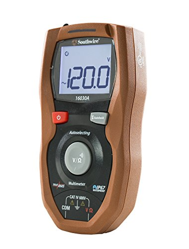 - Southwire Tools & Equipment 16030A Autoselecting CAT IV Multimeter