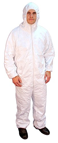 Buffalo Industries (68507) Hooded Polypro Disposable Coverall - Size XXXL