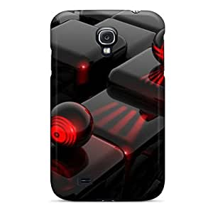 Tough Galaxy Sve12440hktR Cases Covers/ Cases For Galaxy S4(3d Black)
