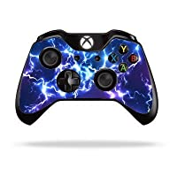 Blue Electric Xbox One Remote Controller/Gamepad Skin / Cover / Vinyl x1br22