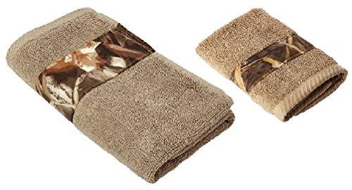 Realtree Max-4 Camo 2 Piece Bathroom Towel Set