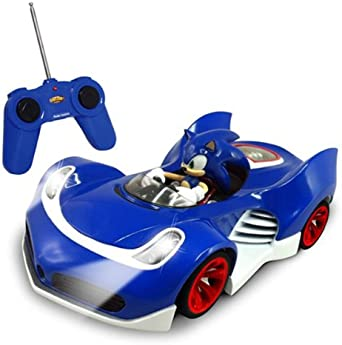Amazon Com Nkok Rc Sonic Ssas R2 Car With Lights Soundtrack