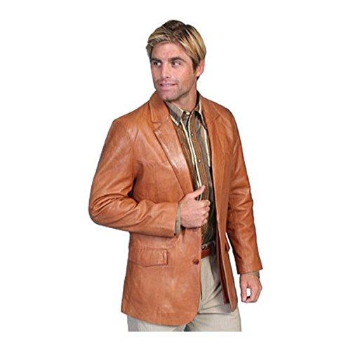 [スカーリー] メンズ ジャケット&ブルゾン Lambskin Blazer 501 [並行輸入品] B07DHN1NQ5 52