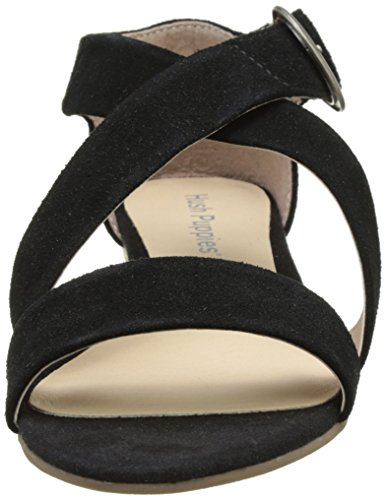 Hush Puppies Kaly - Zapatos Mujer Noir (Noir)