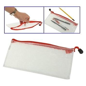 Lanbinxiang@ Bolsa de plástico con Cremallera de PVC, fácil ...