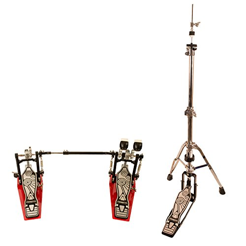 ChromaCast Pro Series Braced Hi Hat Stand with Chain Drive Double Bass Pedal (CC-PS-900-KIT-2)