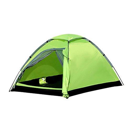 Enkeeo Waterproof Backpacking Tent 2 Person with Carrying Bag, Dome Shape, Green by ENKEEO by ENKEEO (Image #1)